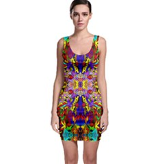 Psycho Auction Sleeveless Bodycon Dress