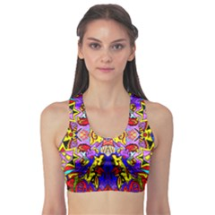 PSYCHO AUCTION Sports Bra