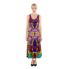 PSYCHO AUCTION Sleeveless Maxi Dress