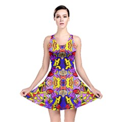 PSYCHO AUCTION Reversible Skater Dress