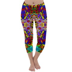 PSYCHO AUCTION Capri Winter Leggings