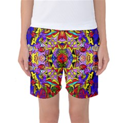 PSYCHO AUCTION Women s Basketball Shorts
