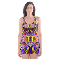 Psycho Auction Skater Dress Swimsuit