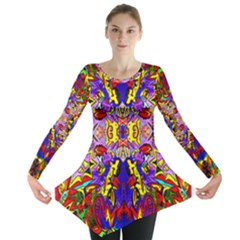 PSYCHO AUCTION Long Sleeve Tunic