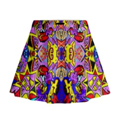 Psycho Auction Mini Flare Skirt