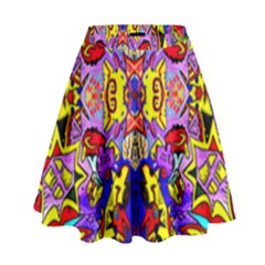 Psycho Auction High Waist Skirt