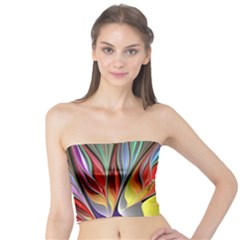 Fractal Bird of Paradise Tube Top