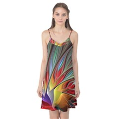 Fractal Bird of Paradise Camis Nightgown