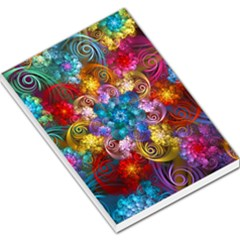 Spirals And Curlicues Large Memo Pads