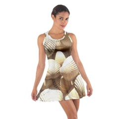 Tropical Exotic Sea Shells Racerback Dresses