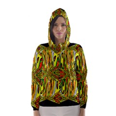 MAGIC WORD Hooded Wind Breaker (Women)