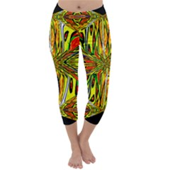 MAGIC WORD Capri Winter Leggings