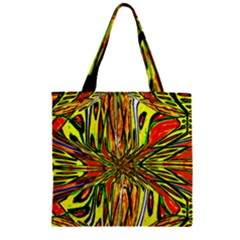MAGIC WORD Zipper Grocery Tote Bag