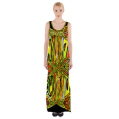 MAGIC WORD Maxi Thigh Split Dress