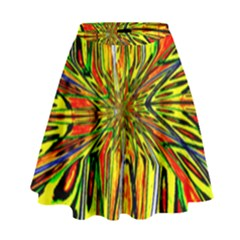 Magic Word High Waist Skirt