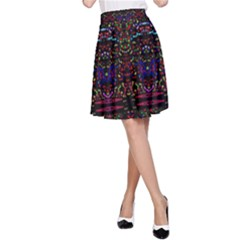 Bubble Up A-Line Skirt