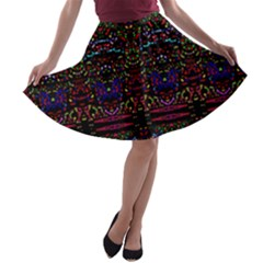 Bubble Up A-line Skater Skirt