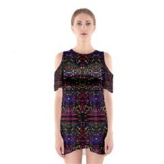 Bubble Up Cutout Shoulder Dress