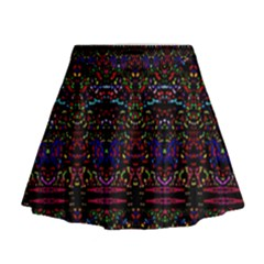 Bubble Up Mini Flare Skirt