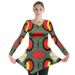 Exile Planet Long Sleeve Tunic