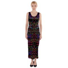 Bubble Up Fitted Maxi Dress