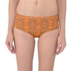 SYSTEM PLUTO 3 Mid-Waist Bikini Bottoms