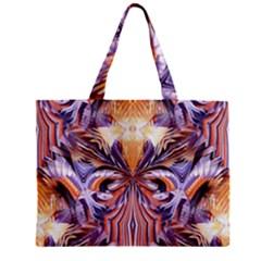 Fire Goddess Abstract Modern Digital Art  Zipper Mini Tote Bag