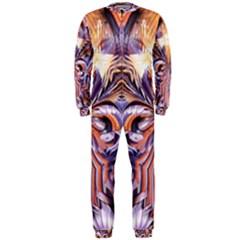 Fire Goddess Abstract Modern Digital Art  OnePiece Jumpsuit (Men)