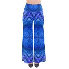 Boho Bohemian Hippie Tie Dye Cobalt Pants