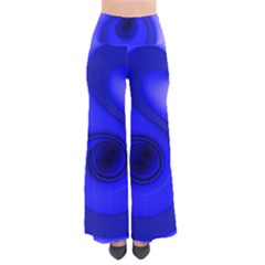 Blue Spiral Note Pants