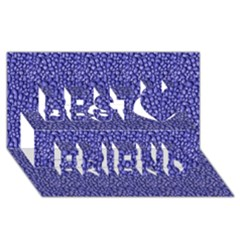 Abstract Texture Best Friends 3D Greeting Card (8x4)