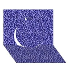 Abstract Texture Circle 3d Greeting Card (7x5)