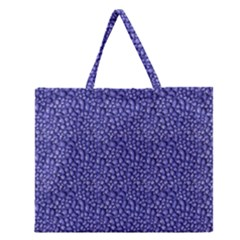 Abstract Texture Zipper Large Tote Bag