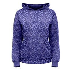 Abstract Texture Print Women s Pullover Hoodie