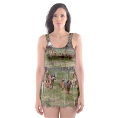 Bloodhounds Working Skater Dress Swimsuit