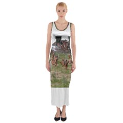 Bloodhounds Working Fitted Maxi Dress