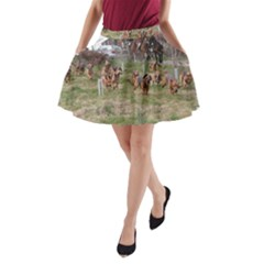 Bloodhounds Working A-Line Pocket Skirt