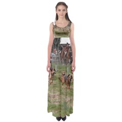 Bloodhounds Working Empire Waist Maxi Dress