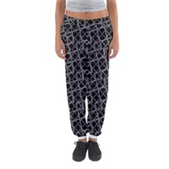 Geometric Grunge Pattern Print Women s Jogger Sweatpants