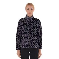 Geometric Grunge Pattern Print Winterwear