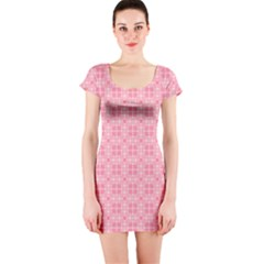 Pinkette Benedicte Short Sleeve Bodycon Dress