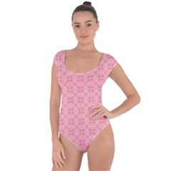 Pinkette Benedicte Short Sleeve Leotard (ladies)