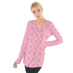 Pinkette Benedicte Women s Tie Up Tee