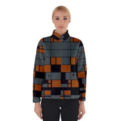 Rectangles in retro colors                              Winter Jacket