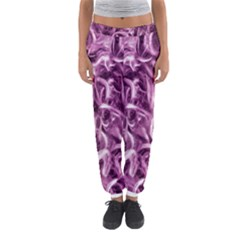 Textured Abstract Print Women s Jogger Sweatpants