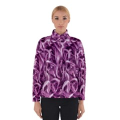 Textured Abstract Print Winterwear