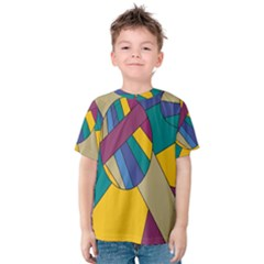 Unknown Abstract Modern Art By Eml180516 Kid s Cotton Tee