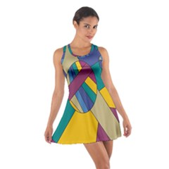 Unknown Abstract Modern Art By Eml180516 Racerback Dresses