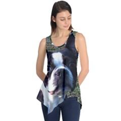 Boston Terrier Sleeveless Tunic