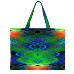 Neon Night Dance Party Large Tote Bag